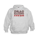 Drag Racing Blood Hoody