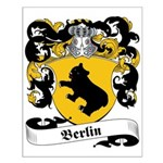 Berlin Family Crest Small Poster