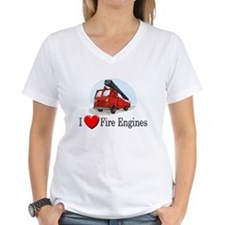 I Love Fire Engines Shirt