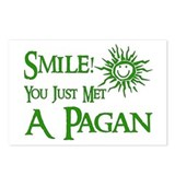 Pagan Smile Postcards (Package of 8)