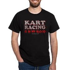Kart Racing Blood T-Shirt