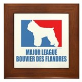 ML Bouvier des Flandres Framed Tile