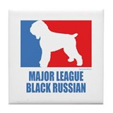 ML Black Russian Tile Coaster