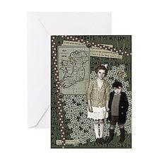 irish mementos collage ST PAT'S Greeting Card