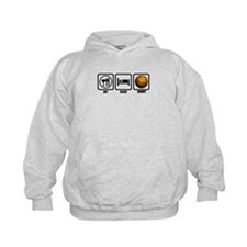 Eat, Sleep, Shoot (Basketball Hoodie