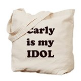 Carly is my IDOL  Tote Bag