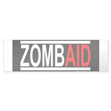 ZombAid Bumper Bumper Sticker