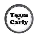 Team Carly Wall Clock