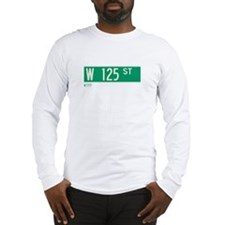 125th Street in NY Long Sleeve T-Shirt