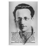 Erwin Schrodinger: Physics Large Poster