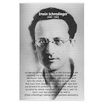 Erwin Schrodinger: Physics Large Poster