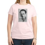 Erwin Schrodinger: Physics Women's Pink T-Shirt