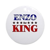 ENZO for king Ornament (Round)