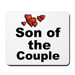 Hearts Son of the Couple Mousepad