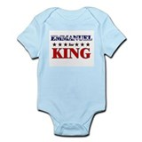 EMMANUEL for king Onesie