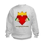 Irish Claddagh Kids Sweatshirt