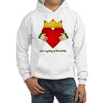 Irish Claddagh Hooded Sweatshirt