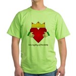 Irish Claddagh Green T-Shirt