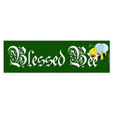 Blessed Bee - Wicca Bumper Bumper Sticker