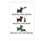 Scotties and Scotch - Postcards (Package of 8)