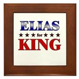 ELIAS for king Framed Tile