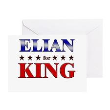 ELIAN for king Greeting Card