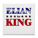 ELIAN for king Tile Coaster