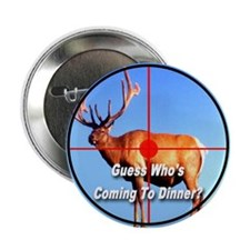 "Guess Who's Coming To Dinner? 2.25"" Button"