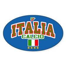 Italia Calcio/Italy Soccer/Football Decal