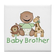 Critter Friends Baby Brother (AF) Tile Coaster