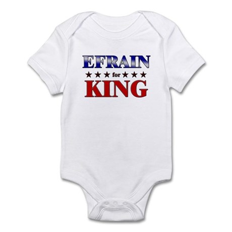 EFRAIN for king Infant Bodysuit