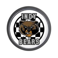 Indy Bears fantasy football Wall Clock