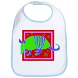 Armadillo (Front only) Bib
