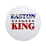 EASTON for king Ornament (Round)