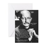 Max Planck Quantum Theory Greeting Cards (Package
