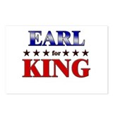 EARL for king Postcards (Package of 8)