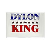 DYLON for king Rectangle Magnet