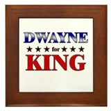 DWAYNE for king Framed Tile