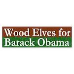 Wood Elves for Barack Obama decal