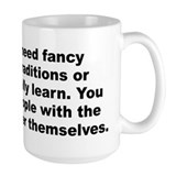 Adam cooper and bill collage quotation Mug