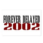 FOREVER DELAYED Postcards (Package of 8)