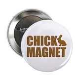 "Chick Magnet Bunny 2.25"" Button"