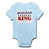 DONAVAN for king Infant Bodysuit