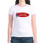 Have You Accepted Jesus as Yo Jr. Ringer T-Shirt