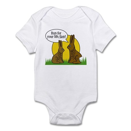 Run For Your Life Infant Bodysuit