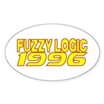 FUZZY LOGIC 1996 Sticker (Oval)