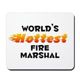 World's Hottest Fire .. (B) Mousepad