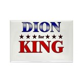 DION for king Rectangle Magnet