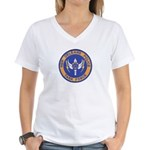 NOPD Task Force Women's V-Neck T-Shirt