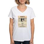 Baby Face Nelson Women's V-Neck T-Shirt